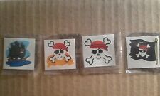 20 pirate Tattoos Children's Birthday Party Loot Bags Favours