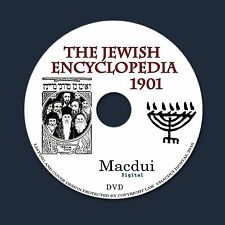 The Jewish Encyclopedia 1901 PDF 12 E-Books on 1 DVD Classic Judaism Religion