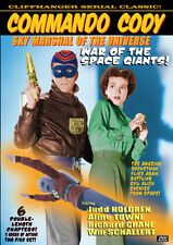COMMANDO CODY- SKY MARSHAL OF THE UNIVERSE VOL 1 - CLIFFHANGER - 2 DISC SET- DVD