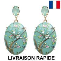 Boucle D'Oreille Original Cadeau Bijou Femme Soirée Anniversaire Fête Des Mères