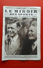 Le Miroir des Sports 371 du 24/05/1927