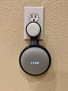 Wall Mount Holder Outlet Hanger For Google Home Mini Smart Home Speaker New