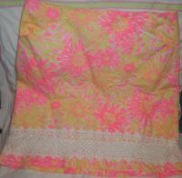 Lilly Pulitzer Corrie Skirt Sunkissed With Glow Sz 6