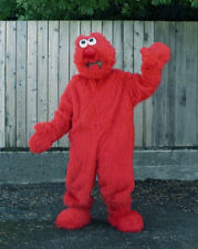 Vintage Over 10-Year Old Elmo Mascot Costume Adult Sized and Light Weight