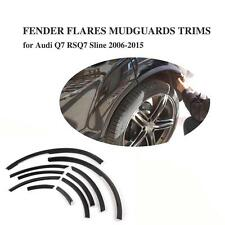 Fender Flares 10PCS Wheel Well Arch Flare Trims Fit For Audi Q7 RSQ7 Sline 06-15