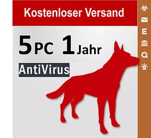 G Data AntiVirus 2021 Vollversion GDATA, 5 PC, 1 Jahr + 3 Monate Bonus