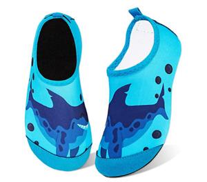 Kids Water Shoes Girls Boys Toddler Non-Slip Quick Dry Aqua Socks for Beach Swim