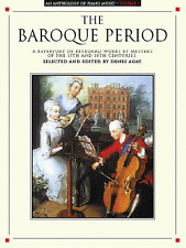 AN ANTHOLOGY OF PIANO MUSIC-VOLUME 1-THE THE BAROQUE PERIOD-MUSIC BOOK-NEW SALE!