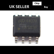 2x Alpha & OMEGA AO aon4407a ao4407a 4407a 30V P-Channel preamplificatore MOSFET allo Chip IC