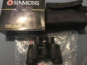 Simmons Aetec aspherical binoculars 7x35 wide angle new old stock