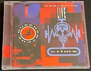 Queensrÿche - Operation: LIVEcrime CD + 2 BT (2001, EMI) Remastered 17 Tracks
