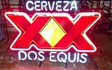 Dos Equis XX Neon bar Sign beer light mancave vintage