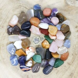 50 x Assorted Crystal Tumblestone Sets Collections 501g-533g Reiki seconds