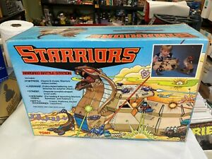 Starriors Armored Battle Station playset Tomy Unused in box