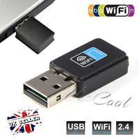 300Mbps Wifi Mini USB Adapter Wireless Dongle Adaptors 802.11 Windows XP 7 8 10