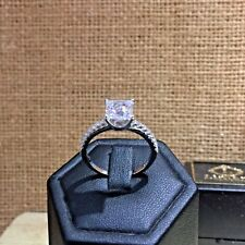 1.5 Ct Created Diamond 925 Sterling Silver Wedding Ring Promise ring