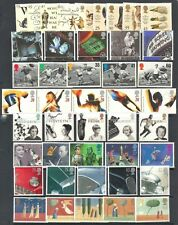 GB GREAT BRITAIN 1996 Commemorative Year Set, 9 sets Mint NH