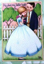 Mary Engelbreit Handmade Magnet-My Dear, My Better Half