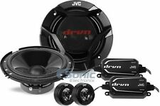 """Jvc Cs-Dr600C 6.5"""" 120W Rms 2-Way Factory Upgrade Component Car Speaker System"""