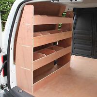 Rayonnage Contreplaqué avec Étagères Rangement Outils Camionnettes VW Caddy SWB