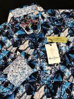 Robert Graham Trapped Abstract Classic Fit Long Sleeve Shirt Medium $198