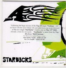 (FI860) A, Starbucks - 2002 DJ CD