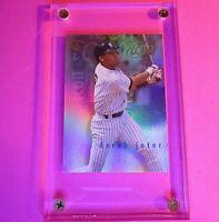 1997 Fleer Circa Icons #4 of 12 Derek Jeter Yankees HOF MINT