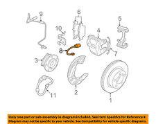 BMW OEM 11-13 328i-Disc Brake Pad Electronic Wear Sensor 34356792560
