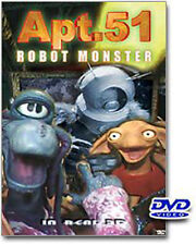 APT. 51 (DVDROBOT MONSTER IN REAL 3D- BNISW DAY U PAY IT SHIPS FREE