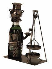 EXTRAVAGANTES Sostenedor de botella cerveza saarländisch eslabón giratorio metal