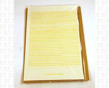 Virnex HO Decals Medium Yellow 1/16 Inches Bold Gothic Letter Set 2003 Alphabet