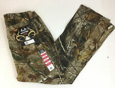 Realtree Women's Camouflage Jeans Size 12 NWT Brown Green 5 Pockets Stretch New