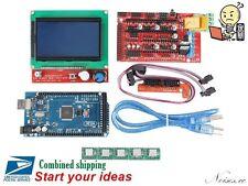 3D Printer Kit for Arduino Reprap RAMPS 1.4 CH340G Mega 2560 5 x A4988 12864 LCD