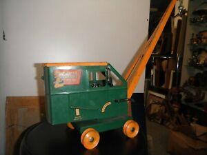 1930'S Buddy L. Mechanical Magnetic Crane