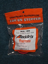Aladdin Aladdin's Thermos Lox On Stopper Lid Top Red # 30 New In Package (b)