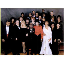 Michael Jackson King of Pop with Multiple Stars 8 x 10 Inch Photo