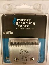 Master Grooming Tool Steel Blade Set For Dogs