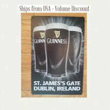 Guinness Sign St. James Gate Dublin Ireland Guinness Sign Vintage Guinness Sign