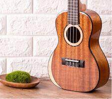 Uma Taiwan MOON-SC Solid Africa Mahogany wood concert ukulele Natural Gloss