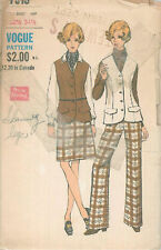 Vintage Separates - Sewing/Dress Making Patterns V7515