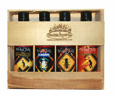 Hot Sauce Gift Set Ghost Pepper Hot Sauce Habanero Extra Hot 3 Pack +1 Free Gift