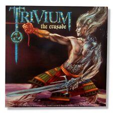 "TRIVIUM - ""THE CRUSADE"" ALBUM COVER GLOSSY STICKER - NEW"