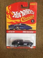 Hot Wheels 2004 Classics Series 1 ~  Deep Purple 1963 Corvette