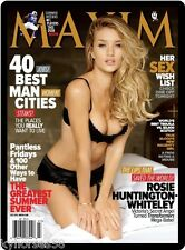 Maxim Cover Rosie Huntington-Whiteley Refrigerator Magnet