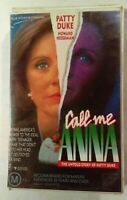 Call Me Anna VHS 1990 Gilbert Cates Patty Duke Roadshow Home Video Large Soft