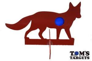 Reactive Fox Hardox AR500 Steel Shooting Target 10mm Plate