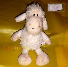 "Peluche Plush - NICI Pecora bianca, White sheep - 17 cm. 6,6"" - USED"