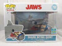 Movies Funko Pop - Shark Biting Quint - Jaws - SDCC Exclusive - No. 760