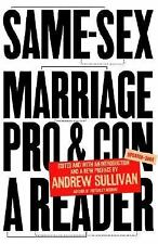 Same-Sex Marriage: Pro and Con Sullivan, Andrew Paperback