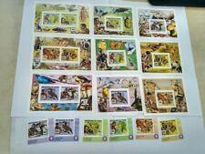 Chad 2013 scouting & animals MICHEL No. 2632-2637 BL 500-505